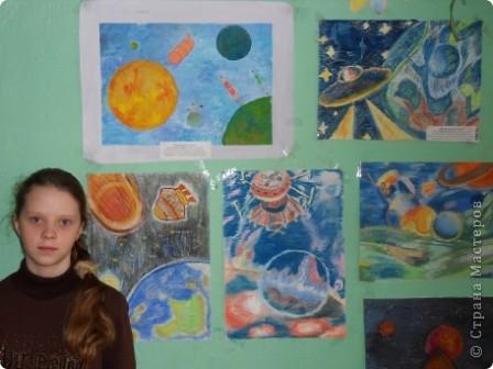 В школе прошла неделя ко Дню космонавтики.  фото 13