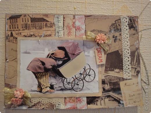 """Эта """"Открытка"""" теперь висит у меня на стене как картина)))))))))) Может в будущем я ее кому и адресую) фото 1"""