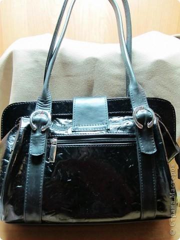 Вот теперь какая сумочка есть у меня! фото 3