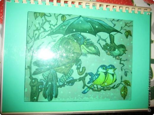 Когда моя дочка была маленькая, я сделала для неё книжку с любимыми стихами. Писала и рисовала фломастерами и карандашами.  фото 2