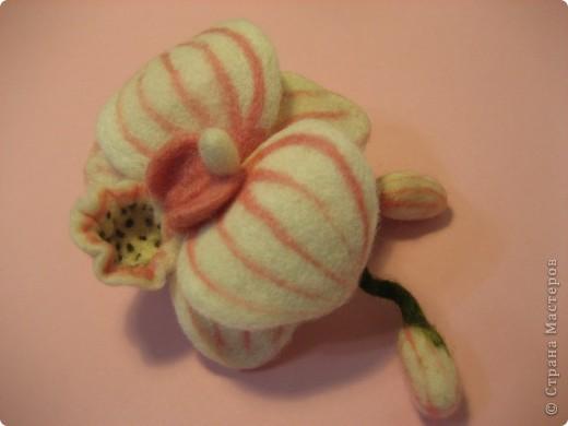 Брошь орхидея фото 1
