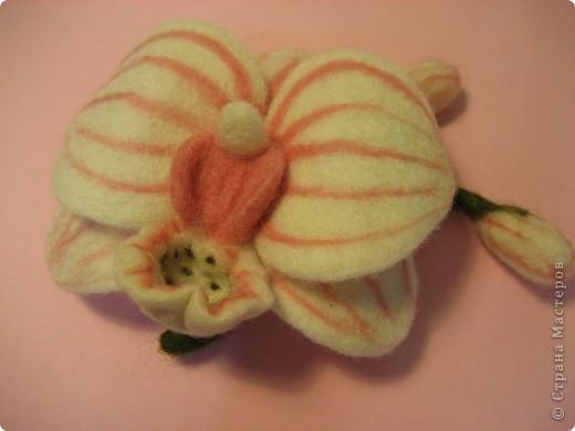 Брошь орхидея фото 5