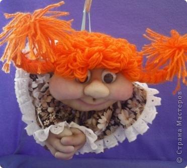 Девочки! Глядя на созданных вами  кукол, захотелось самой сотворить такую прелесть. Вот мое первое чудо! фото 2