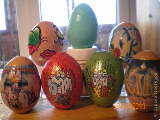 мыльные яйца в скорлупе