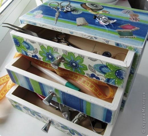 Комодик для швейных мелочей фото 1