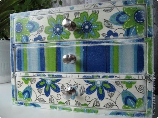 Комодик для швейных мелочей фото 2