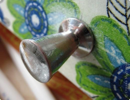 Комодик для швейных мелочей фото 4