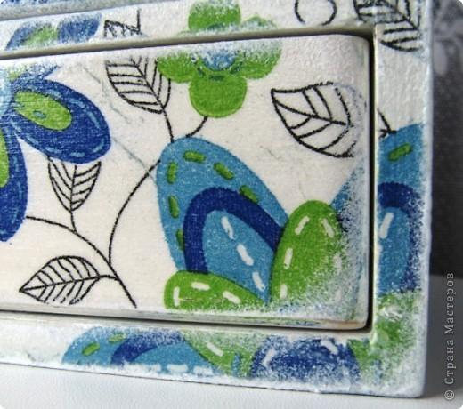 Комодик для швейных мелочей фото 5