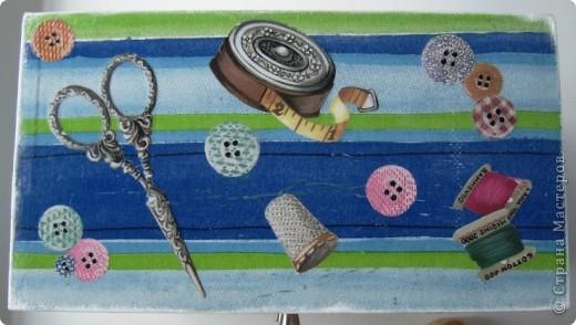 Комодик для швейных мелочей фото 6