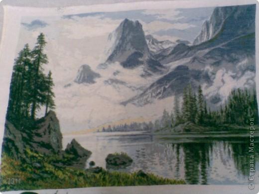 туман в горах фото 1