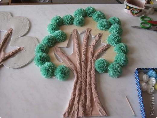Дерево для пано,делаю пано для внучки, декориру комнату, технику изготовления подсмотрела в МК.Девочки помогите, на коменты не могу ответиь не работает поле, отзовитесь. фото 8