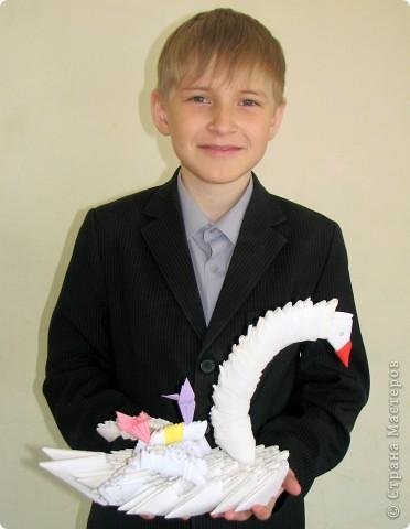 Ростовцев Данила и Гоцвальрт Кирилл (7б) выполнили  дракончика. Модули подготовили не только они, но и другие ребята. (Работа без схем), видели фотографию подобного дракончика, дополнили детальками, получился такой удивлённый дракон. фото 2