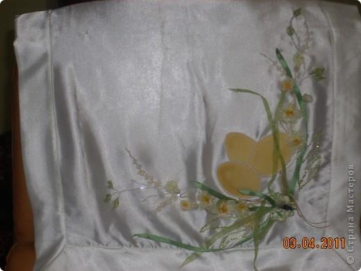 Вот такое нестандартное решение Пасхального полотенечка получилось у меня , в этом году:-)  фото 1