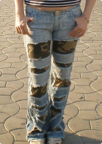 вставки из материала,пуговицы,молнии старые,пояс от старых джинсов,нитки и т.д.,то что вам казалось бы не нужно,может пригодиться фото 4