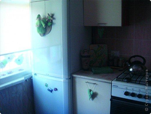 Эта тильда у меня на холодильнике (держится на магните) фото 14