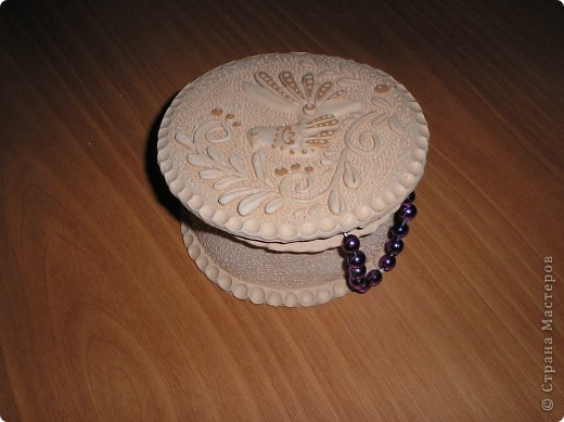 Шкатулка для ватных дисков фото 3