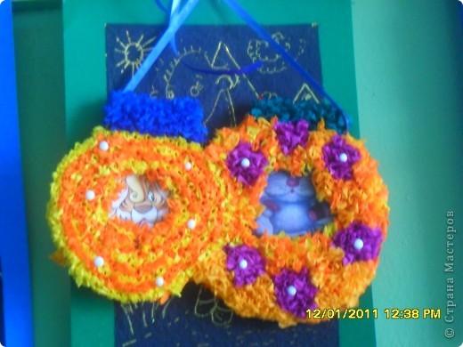Посмотрите какие чудесные новогодние игрушки, можно сделать методом торцевания на декоративных тыковках! фото 6