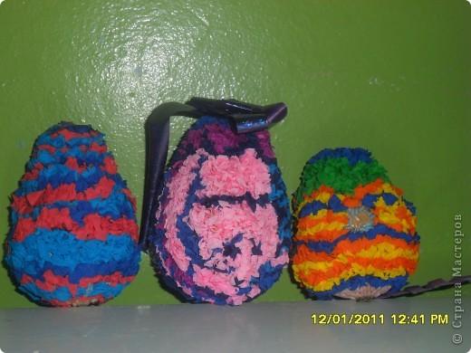 Посмотрите какие чудесные новогодние игрушки, можно сделать методом торцевания на декоративных тыковках! фото 7