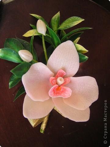 Орхидея для комплекта фото 6