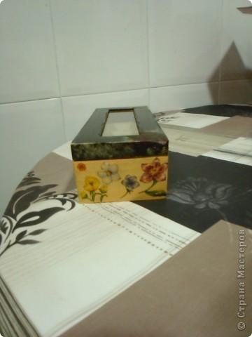 снова коробочка для чая :) фото 3