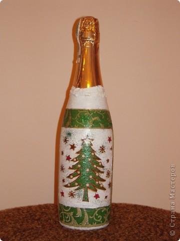 Декор бутылок фото 7