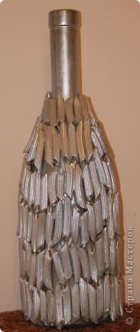 Декор бутылок фото 14