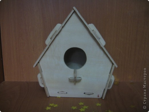 Вот такие домики для птиц сделали с дочкой!  фото 5