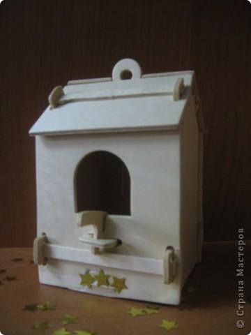 Вот такие домики для птиц сделали с дочкой!  фото 9