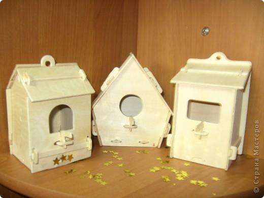Вот такие домики для птиц сделали с дочкой!  фото 1