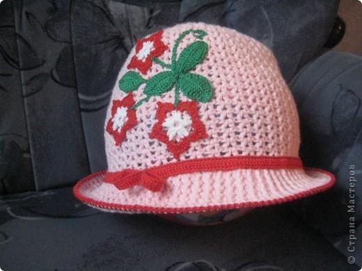 Летняя шапочка. фото 1