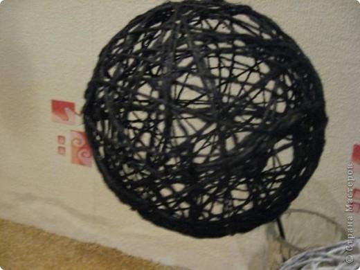 Этот коллаж я сделала в дополнение к шарам (см.фото далее) для чёрно-белого интерьера фото 6