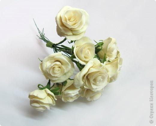 Как я уже говорила, у моей подруги скоро свадьба, и мне было поручено создание украшений к сему замечательному празднику, а именно - я делаю цветочный венок на голову невесте)))) фото 2