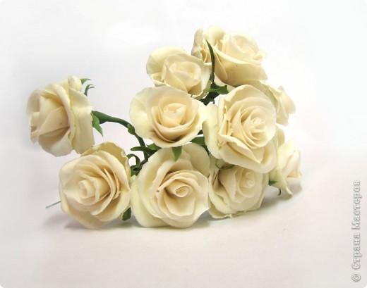 Как я уже говорила, у моей подруги скоро свадьба, и мне было поручено создание украшений к сему замечательному празднику, а именно - я делаю цветочный венок на голову невесте)))) фото 1