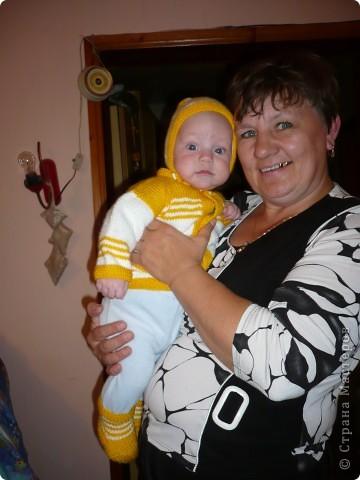 Бабушка с внуком  фото 1