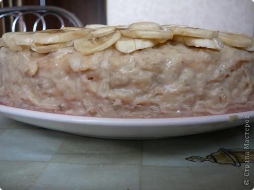 Этот великолепный тортик я сделала очень быстро по рецепту Светланы-май! Вот ссылка на рецепт: http://stranamasterov.ru/node/180250?c=favorite фото 2