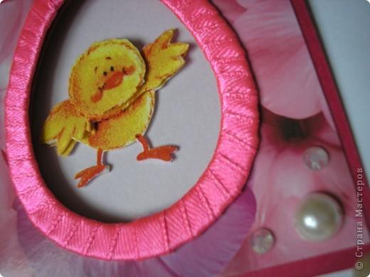 И снова цыплята. Это мини-открыточки. Размер в сложенном виде - 7,5х8 см. Цыплята - с салфетки. Создала эффект 3D.  фото 9