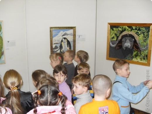 Вот с этих антилоп мы начали знакомство с выставкой. фото 3