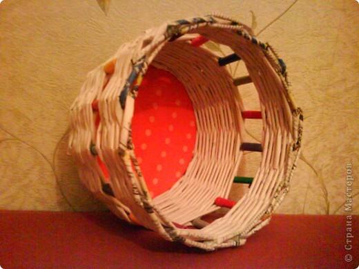 красила лак клен по краям, полоска белой акриловой краской и на дне (под салфетку) фото 10