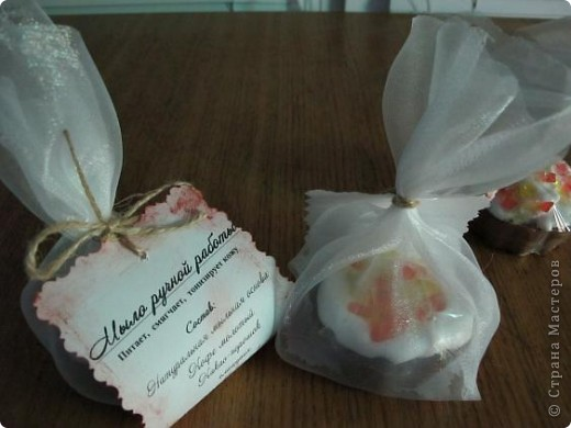Что-то я начала лозунгами говорить!:))) Мыльные куличики мы наварили красивые http://stranamasterov.ru/node/180785, но подарить их нужно тоже красиво! фото 1