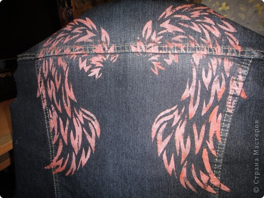 Это будущая спинка куртки фото 3