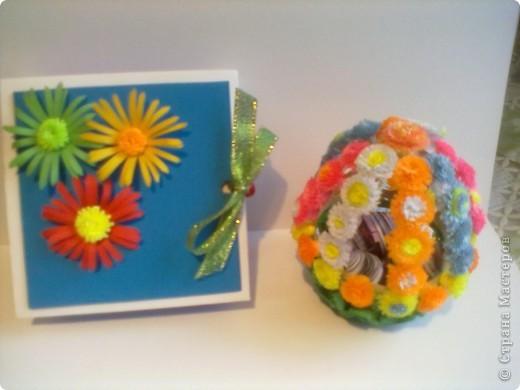 Сделала денежную коробочку и шкатулку- яйцо в подарок. фото 1