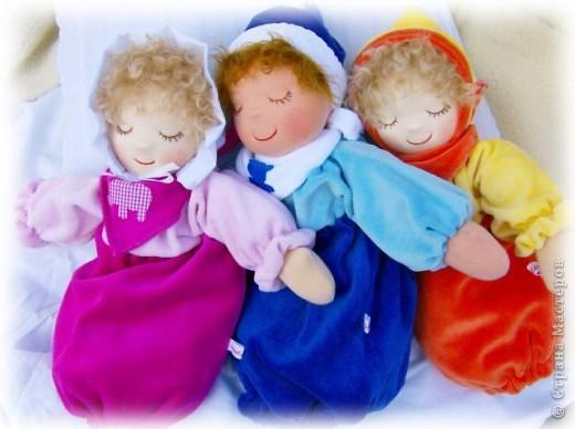 Кукла-грелак для ребенка и мамы. фото 1