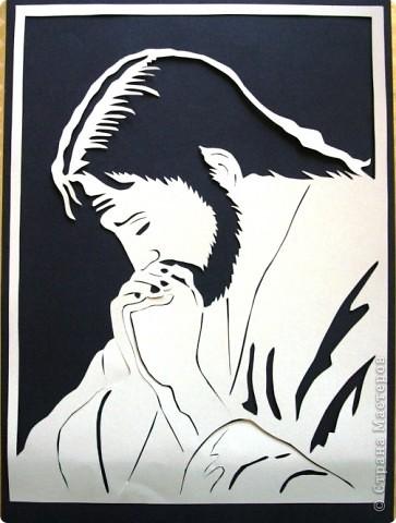 Пасха вырезание молитва христа бумага
