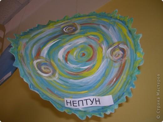 Солнечную систему создавали всей школой. Каждый класс рисовал 1 объект фото 6