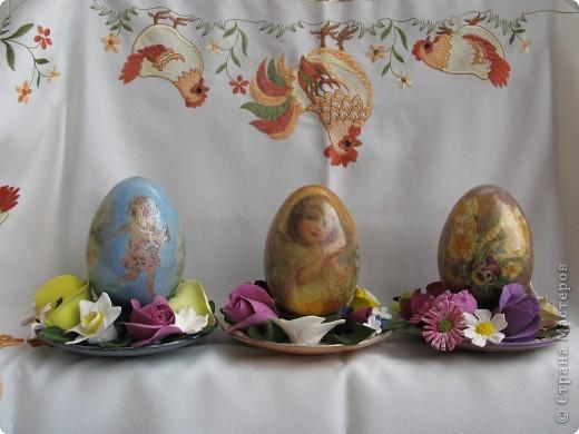 Декоративные яйца. Вот такие подарки я приготовила близким к Пасхе. фото 1