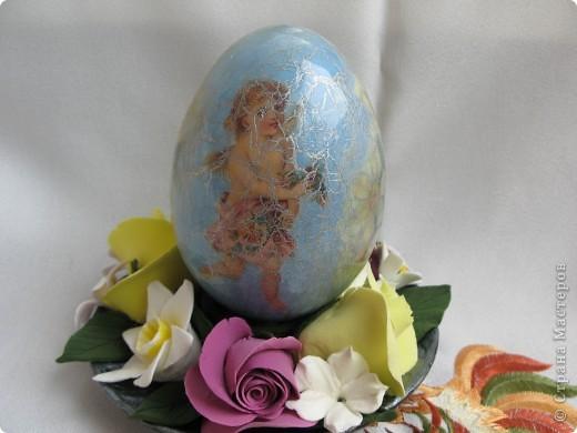 Декоративные яйца. Вот такие подарки я приготовила близким к Пасхе. фото 6