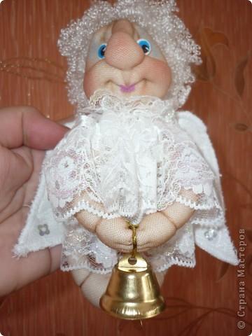 Сделала в подарок  коллеге по работе в её коллекцию ангелов фото 1