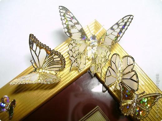 Рамка с бабочками! фото 1