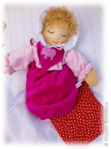 Кукла-грелак для ребенка и мамы. фото 2