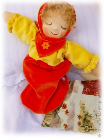 Кукла-грелак для ребенка и мамы. фото 3